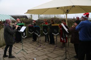 Xmas Carols at Taurus Crafts Dec16